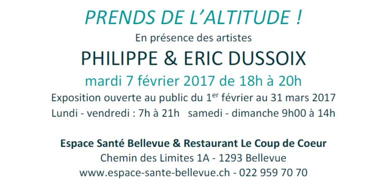 INVITATION_vernissage Philippe et Eric Dussoix
